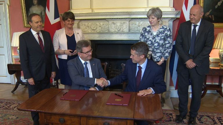 The DUP and Tories have reached a deal