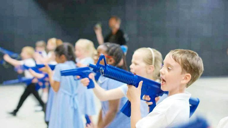 Some parents have said the school trip has helped to make their children feel safer. Pic: SWNS