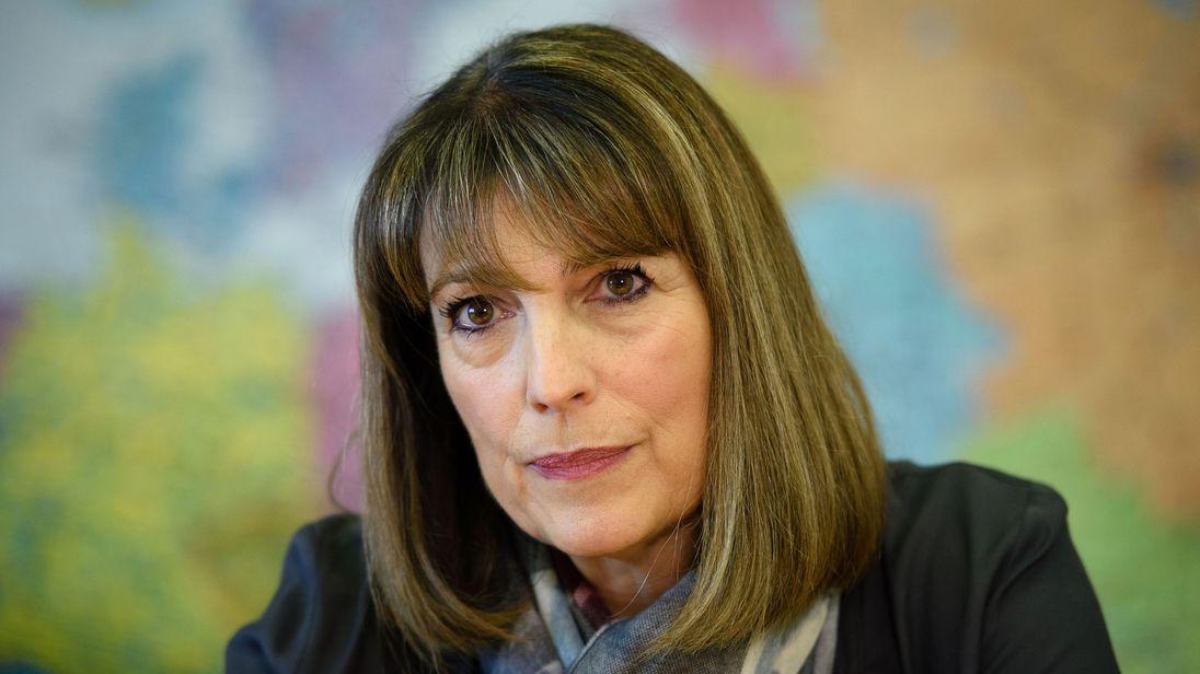 Easyjet's chief executive, Carolyn McCall