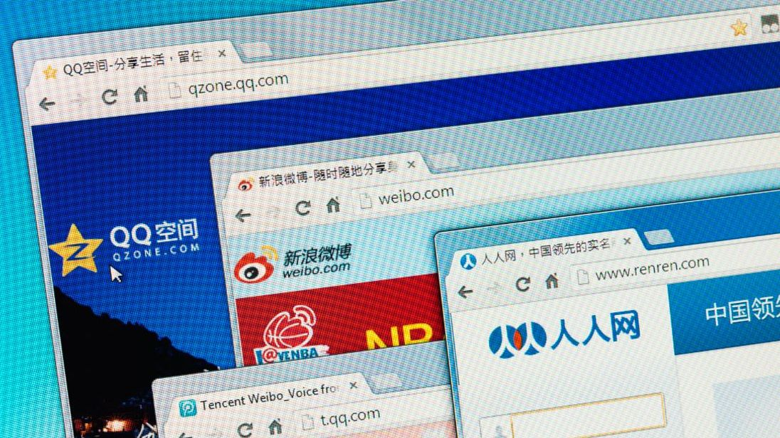 Chinese social media sites