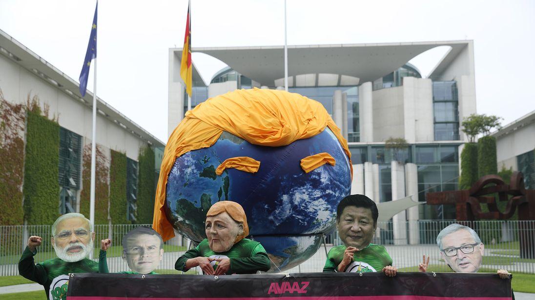 Image result for trump hamburg g20