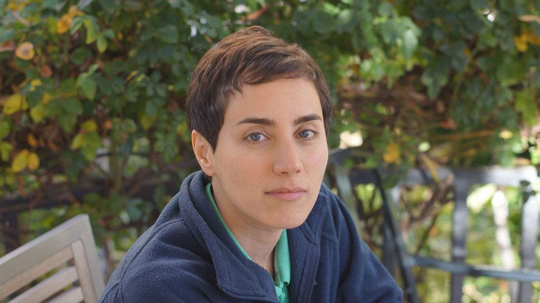 Professor Maryam Mirzakhani. Pic: Stanford University