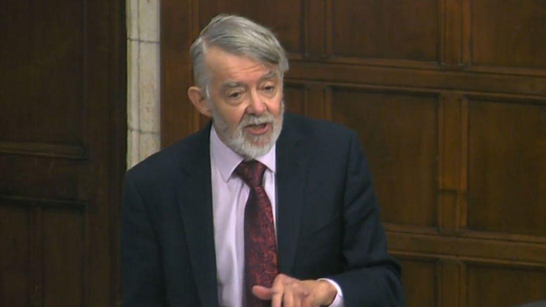 Newport West MP Paul Flynn speaks in Parliament