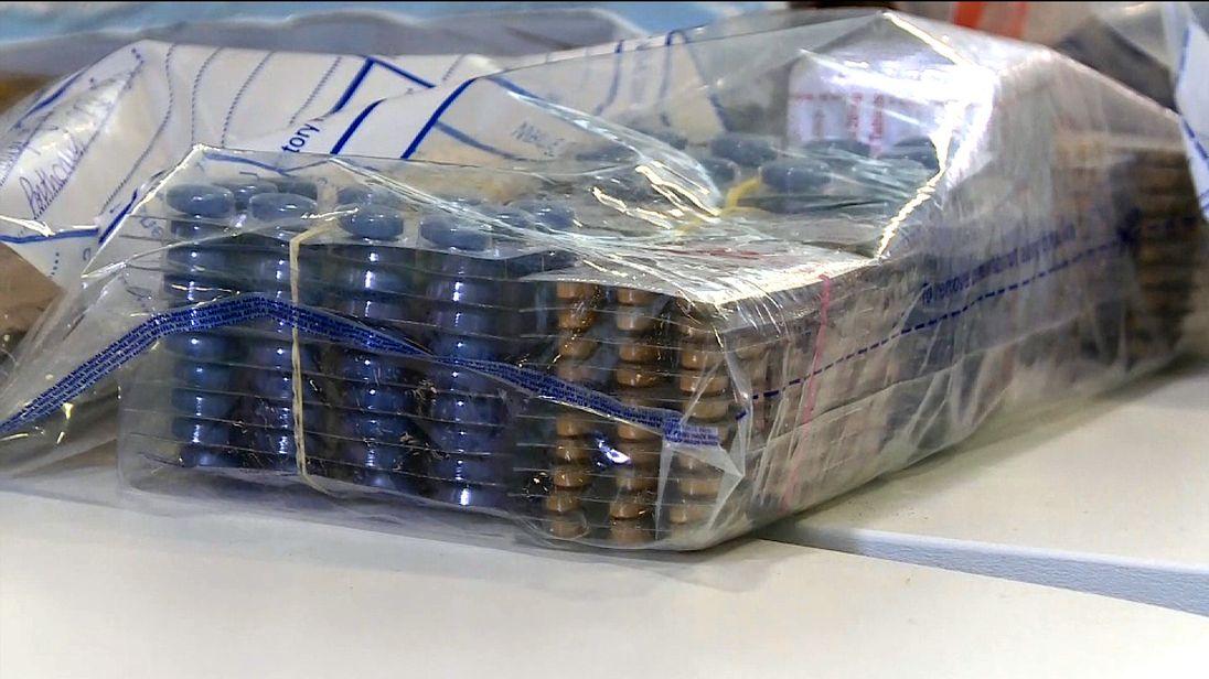 Drugs sold on Facebook
