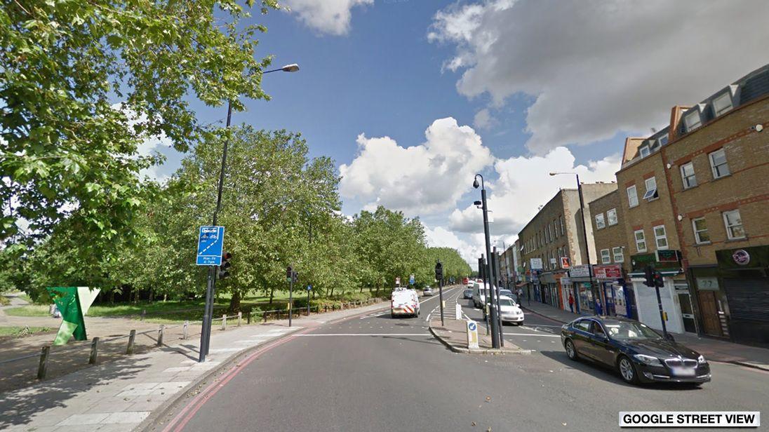 Burdett Road in Mile End