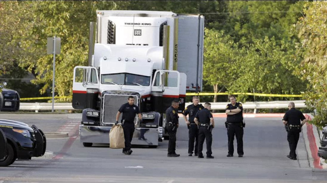 Driver due in court after deaths of 10 migrants from sweltering truck