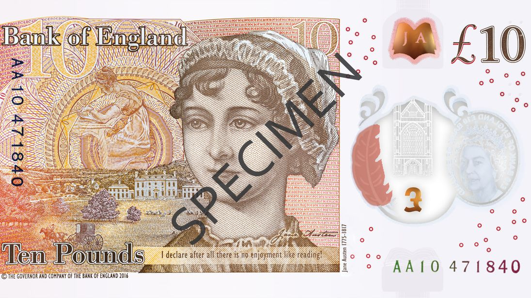 Coming Soon To Your Wallet New 10 Note Unveiled