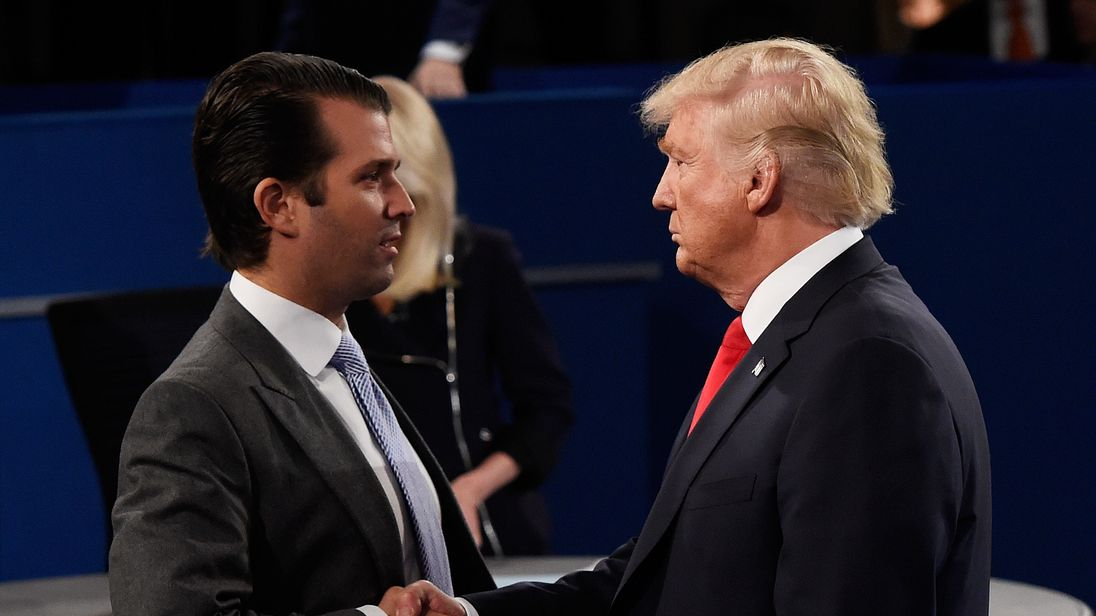 Donald Trump Jr does not hold a post in the US administration so was not obliged to disclose foreign contacts