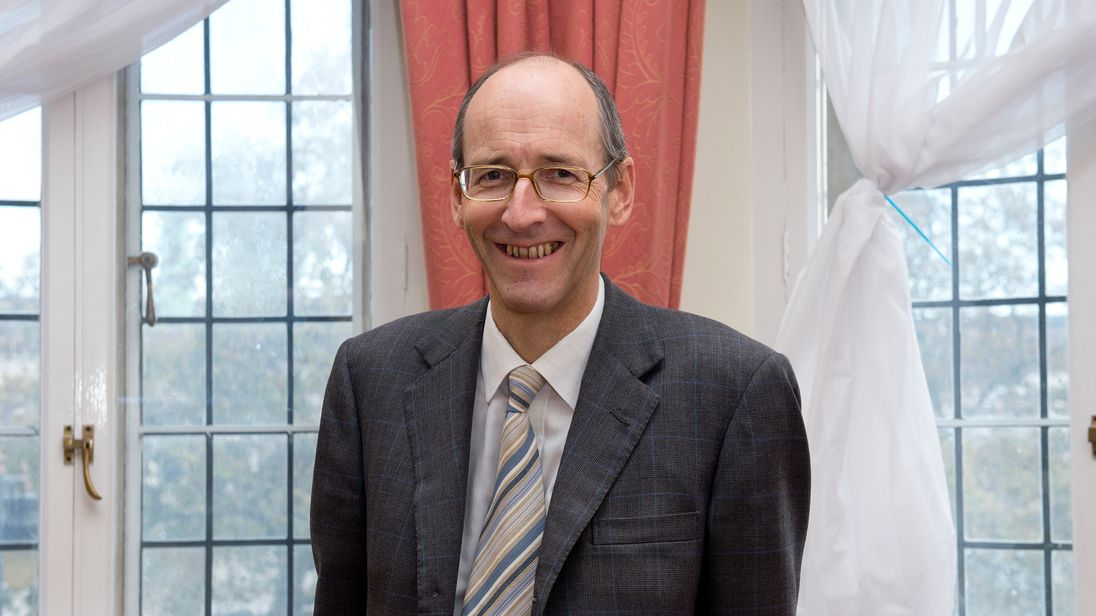 Andrew Tyrie, Chairman of the Treasury Select Committee and Member of Parliament (MP) for Chichester at the Houses of Parliament, Westminster, central London.