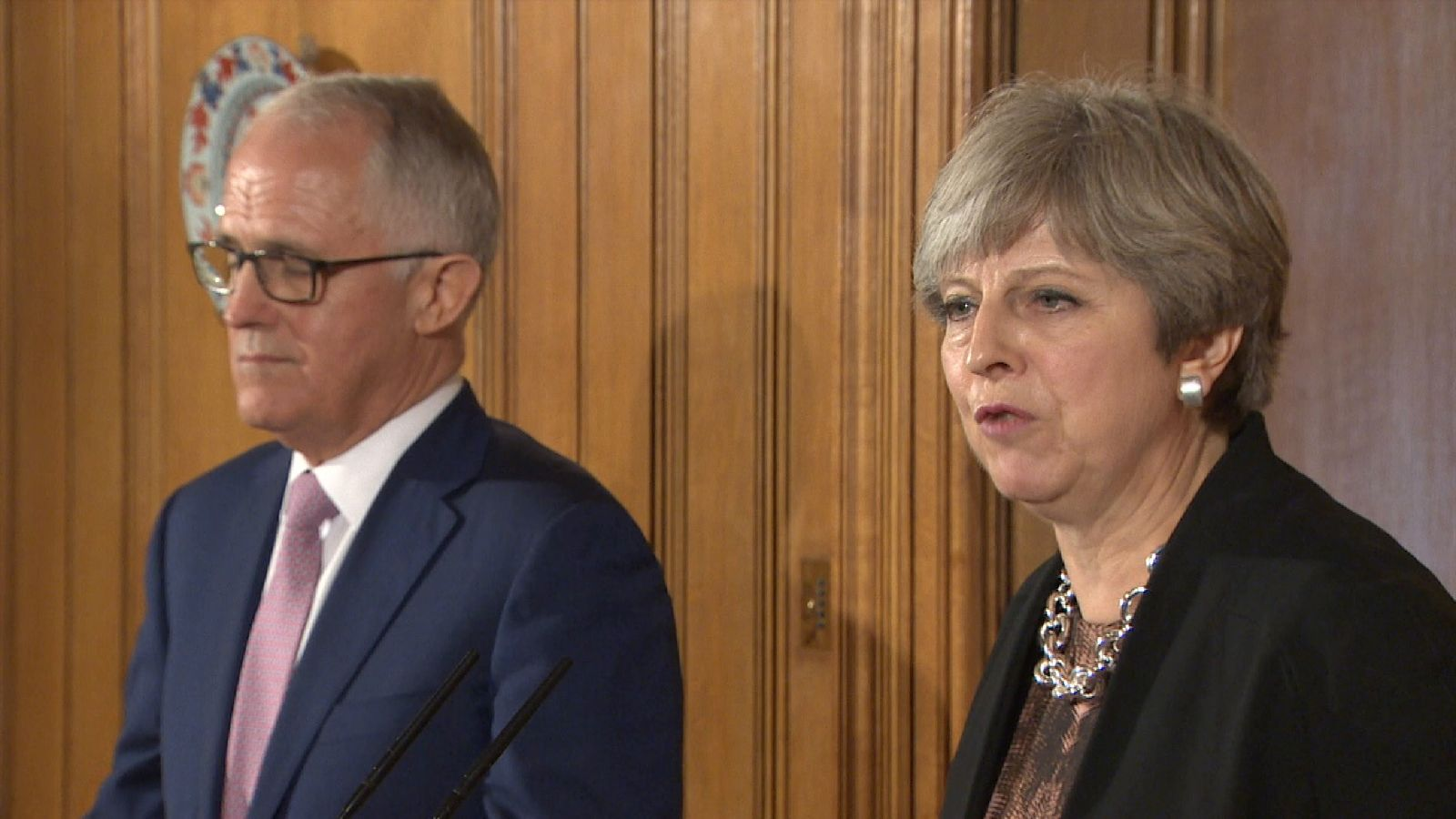 The Prime Minister's of the UK and Australia have both agreed to quickly tie up a trade deal after Brexit.
