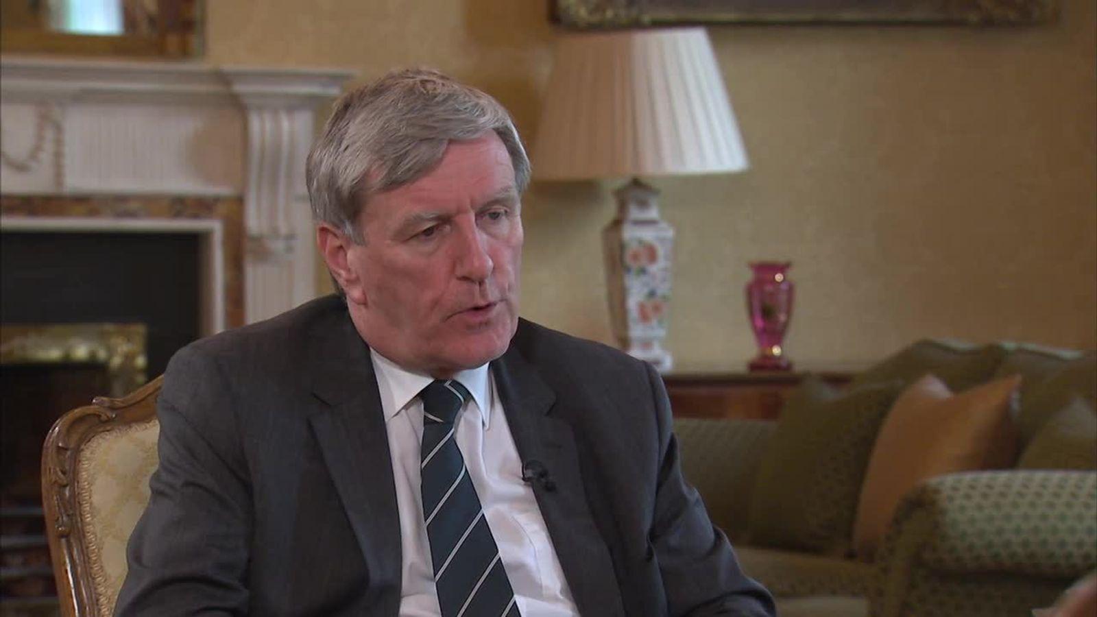Ireland's UK ambassador Dan Mulhall