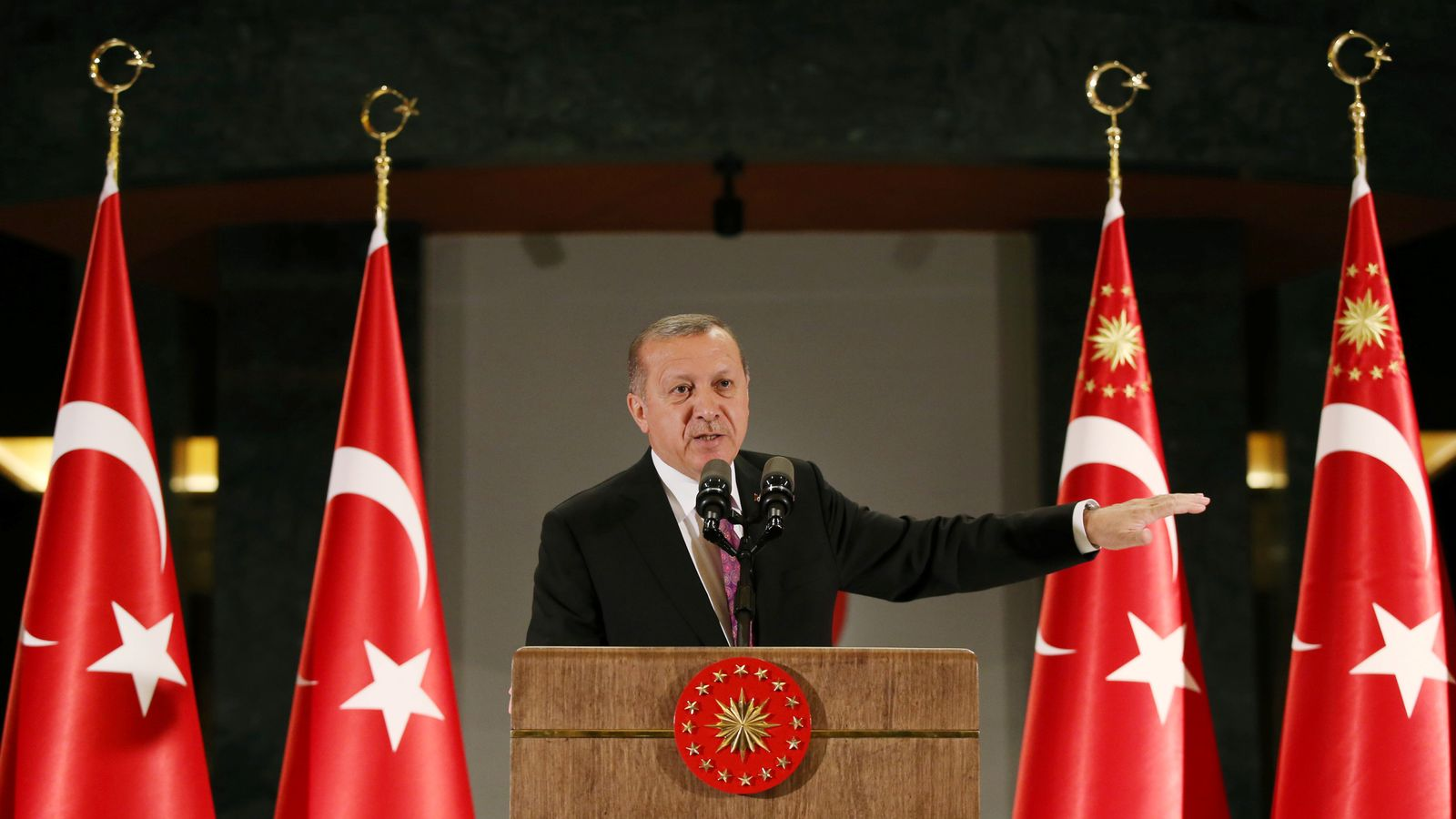 Erdogan: Turkey does not need the EU