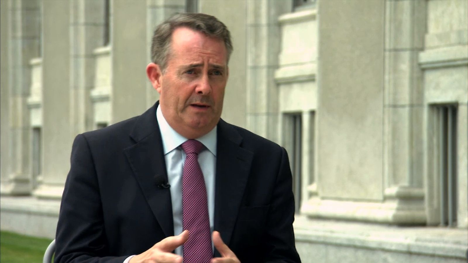 Liam Fox, International Trade Secretary