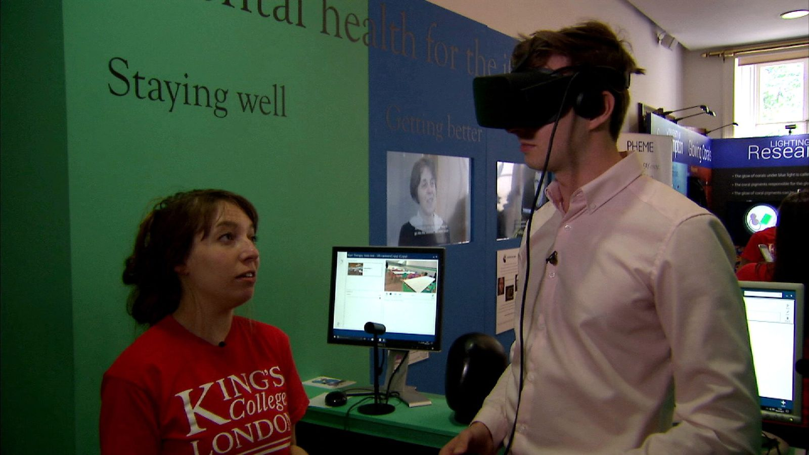 Virtual reality tech to help with anxiety