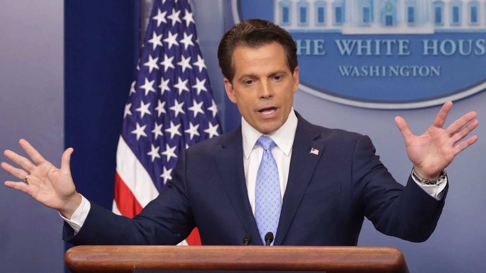 The Meteoric Rise and Fall of Anthony Scaramucci