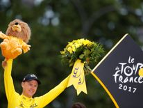 Froome has clinched his four Tour de France victory - and third in succession