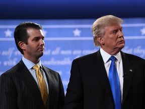 Donald Trump Jr admits he 'would have done things a little differently' in hindsight