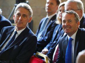 Philip Hammond and Liam Fox