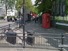 The stabbing in King William Walk is the latest in a string of attacks in the capital involving mopeds