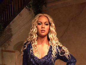 Beyonce waxwork in Madame Tussauds New York July 2017