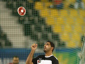 Abdullah Hayayei competes in the IPC Athletics World Championships at in 2015