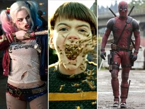 Suicide Squad, Miss Peregrine's Home for Peculiar Children, and Deadpool