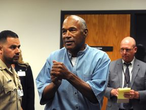 OJ Simpson has served the minimum nine years in jail for armed robbery