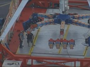 Several people were thrown from the ride