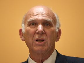 Sir Vince Cable speaking as he is named as the leader of the Liberal Democrats