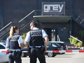 Germany nightclub shooting