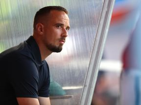 Mark Sampson has been in charge of the England women since December 2013