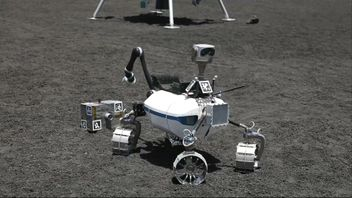 Robots for lunar and Mars expeditions are tested on Mount Etna