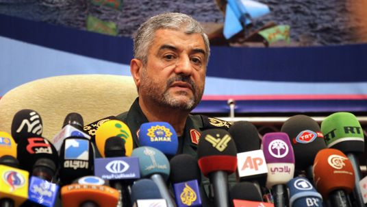 Iranian Revolutionary Guard commander Brigadier General Mohammad Ali Jafari