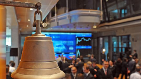 The Stock Exchange bell is used to open or close the session in Warsaw on November 9, 2010.