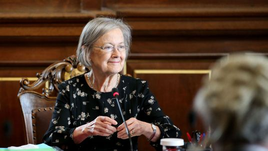 Lady Hale becomes the first female president of the Supreme Court