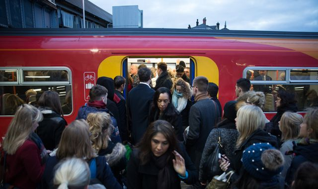 Rail passengers hit by three days of strike action