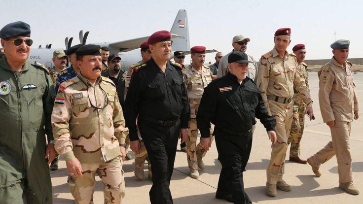 Iraq's PM said Mosul had been 'liberated'