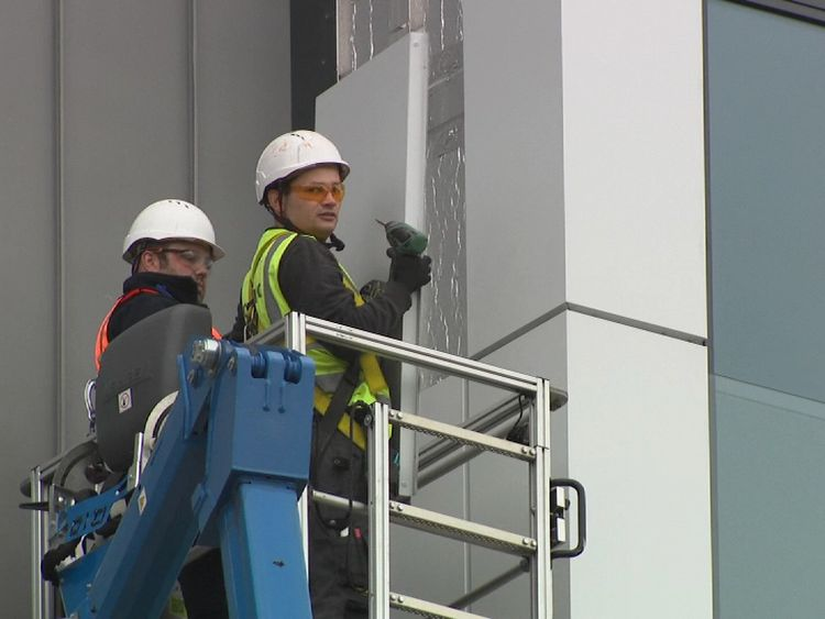 Cladding has been stripped from dozens of buildings around the country to be tested