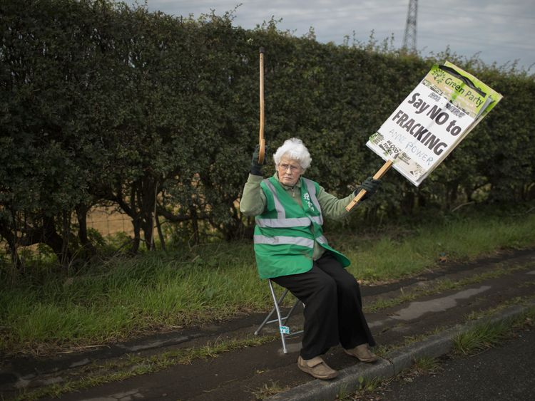Protests have escalated since the fracking site was approved last year