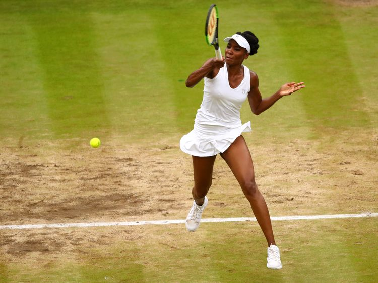 Williams fought to win her sixth Wimbledon title
