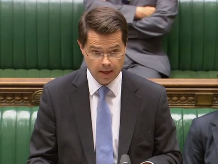 Northern Ireland Secretary James Brokenshire gives a statement on the political deadlock at Stormont (03/07/17)