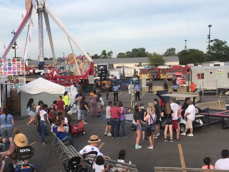 Madison County fairgoers talk safety following OH  amusement ride tragedy