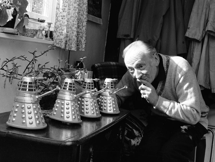 William Hartnell, the first Doctor Who
