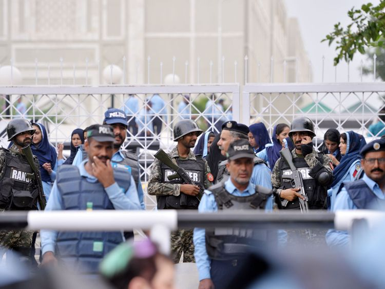 Security was stepped up outside the Supreme Court as the panel delivered its verdict