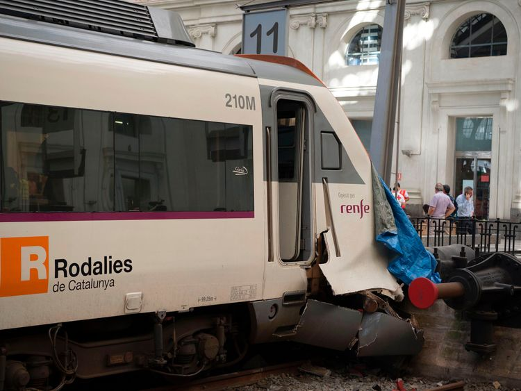 The regional train service hit the end of the track