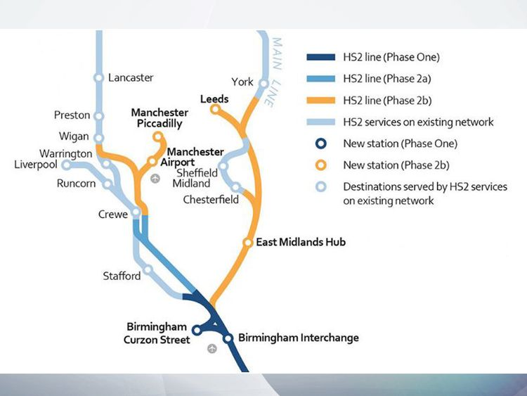 This is how the Government wants HS2 to be extended beyond Birmingham