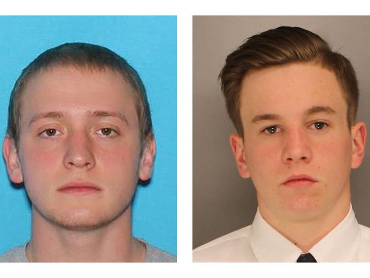 Jimi Patrick, 19, (left) and Mark Sturgis, 22.
