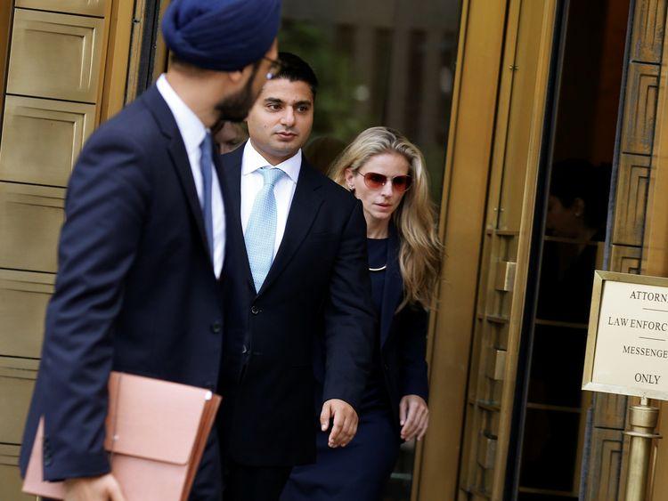 Rohan Ramchandani (C) was a senior currency trader at Citigroup