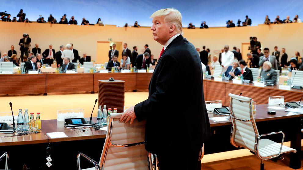 US President Donald Trump at G20