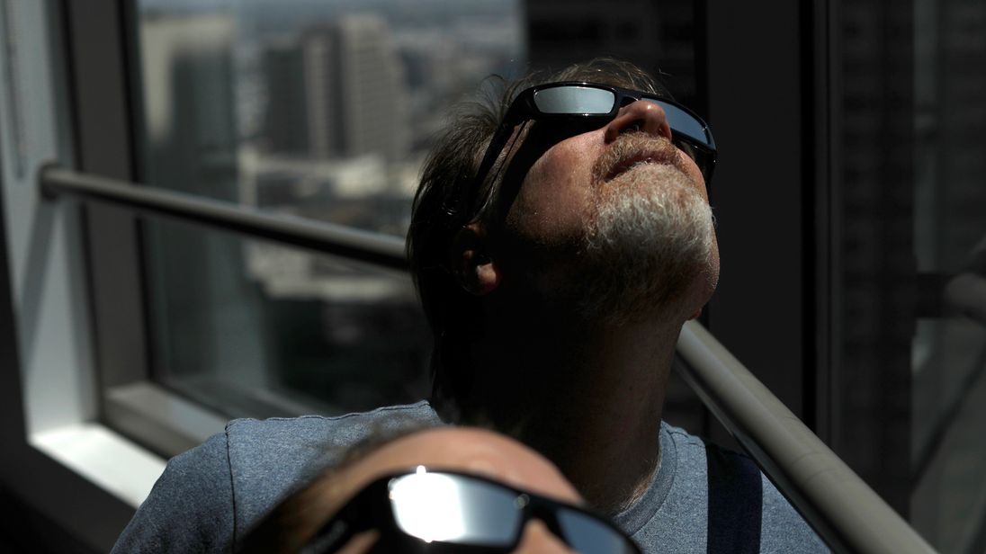 Special glasses essential for viewing the solar eclipse